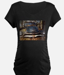 Sad Old Blue Chevy Maternity T-Shirt