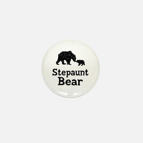 Stepaunt Bear Mini Button