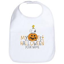 Snoopy - My First Halloween Bib