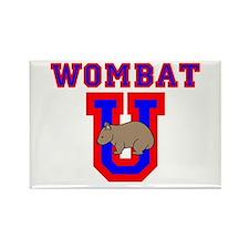 Wombat U II Rectangle Magnet