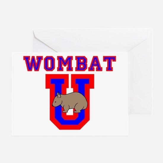 Wombat U II Greeting Card