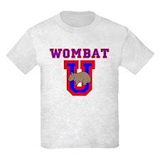 Wombat U II Kids Light Colored T-Shirt