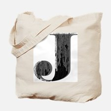 Grungy letter J Tote Bag