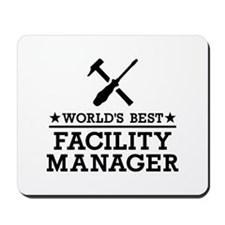 World's best Facility Manager Mousepad