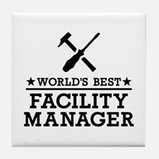 World's best Facility Manager Tile Coaster