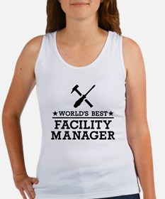World's best Facility Manager Women's Tank Top
