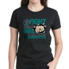 Cute Brain cancer fight like a girl Tee