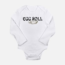 Cute Asian humor Long Sleeve Infant Bodysuit