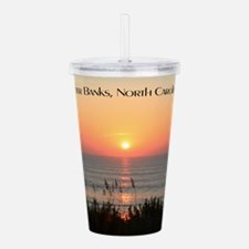 Outer Banks Sunrise Acrylic Double-wall Tumbler