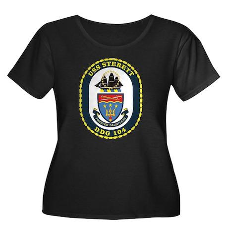 DDG 104 Women's Plus Size Scoop Neck Dark T-Shirt