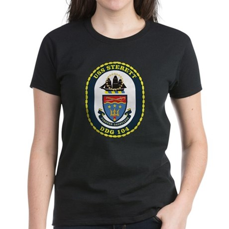 DDG 104 USS Sterett Women's Dark T-Shirt