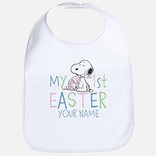 Snoopy - My 1st Easter Bib
