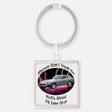 Datsun 280Z Square Keychain