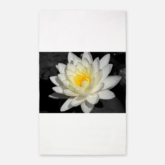 Cute Water lilies Area Rug