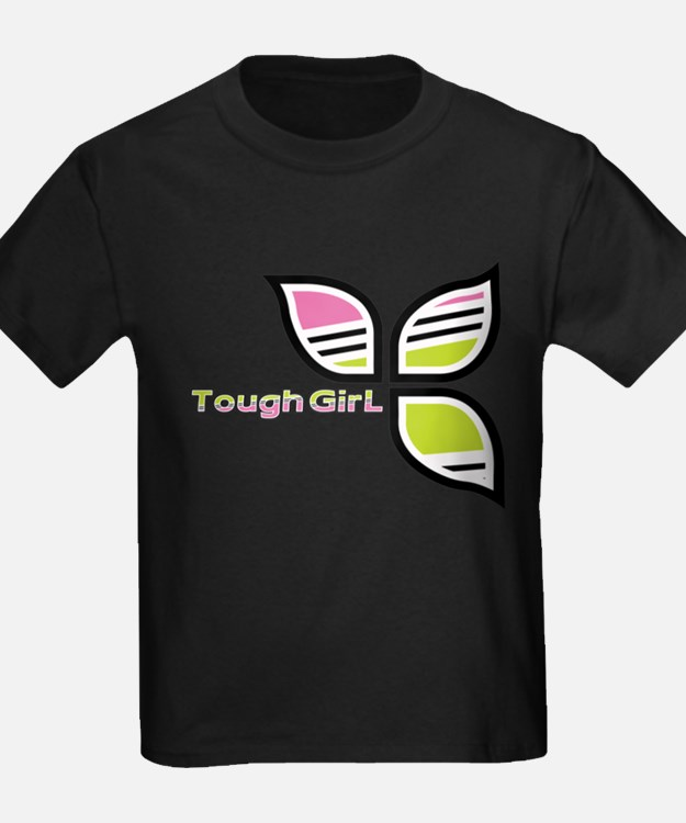 Cute Tough girl cycling T