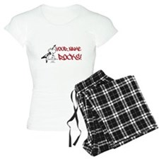 Snoopy Rocks - Personalized pajamas