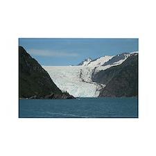 Exit Glacier Rectangle Magnet