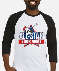 Snoopy All Star - Personalized Baseball Jersey