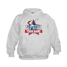 Snoopy All Star - Personalized Kids Hoodie
