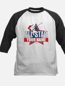 Snoopy All Star - Personalize Kids Baseball Jersey
