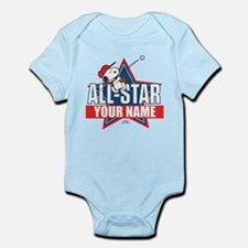 Snoopy All Star - Personalized Infant Bodysuit