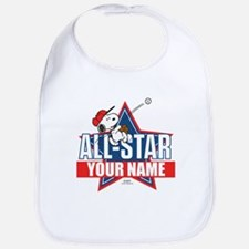 Snoopy All Star - Personalized Bib