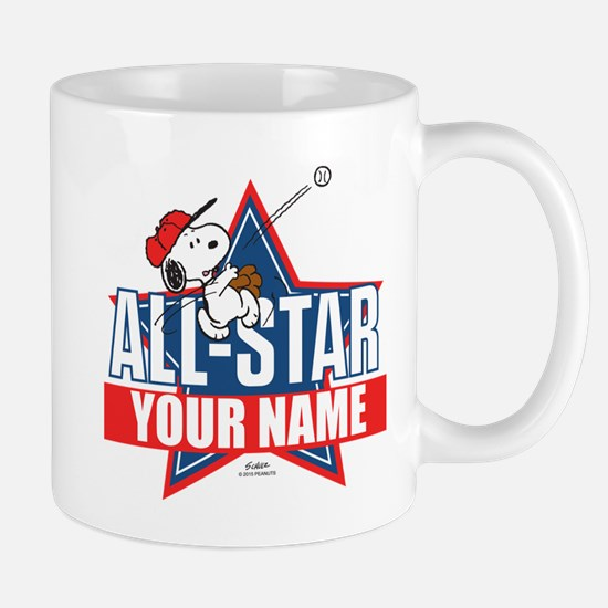 Snoopy All Star - Personalized Mug