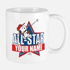 Snoopy All Star - Personalized Small Small Mug