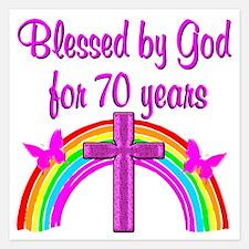 70TH PRAYER Invitations