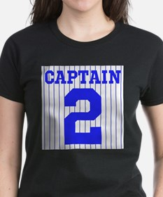 CAPTAIN #2 PINSTRIPES JETER Tee
