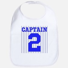 CAPTAIN #2 PINSTRIPES JETER Bib