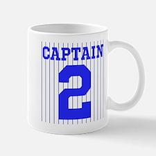 CAPTAIN #2 PINSTRIPES JETER Mug