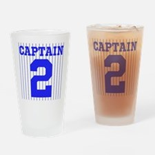 CAPTAIN #2 PINSTRIPES JETER Drinking Glass