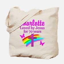 70TH PRAYER Tote Bag