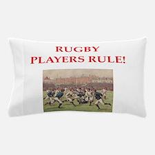 rugby joke Pillow Case