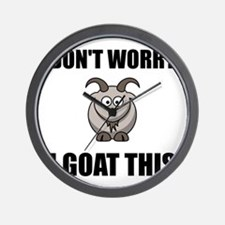 I Goat This Wall Clock