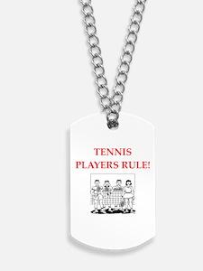 tennis Dog Tags