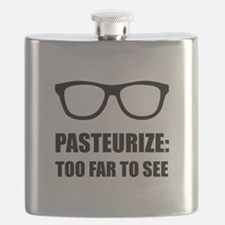 Pasteurize Too Far To See Flask