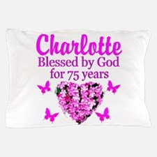 CHRISTIAN 75TH Pillow Case