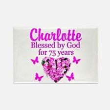 CHRISTIAN 75TH Rectangle Magnet