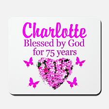 CHRISTIAN 75TH Mousepad