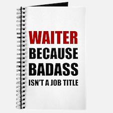 Waiter Badass Journal