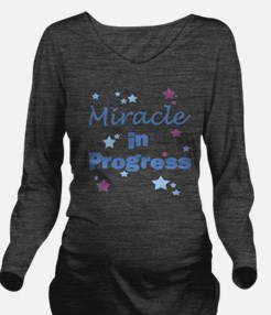 Cute Miracle Long Sleeve Maternity T-Shirt