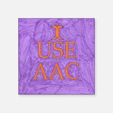 I use AAC Sticker