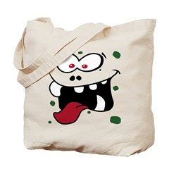 Silly Monster Costume Tote Bag