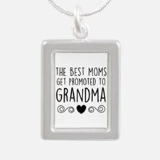Promoted to Grandma Necklaces