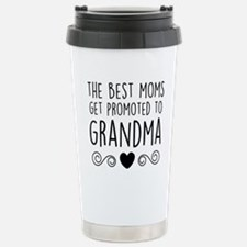 Promoted to Grandma Travel Mug