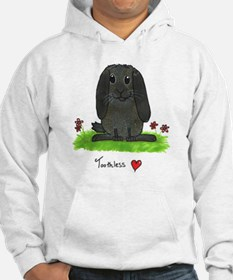 Chubby bunny toothless Hoodie
