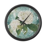 Floral Giant Clocks