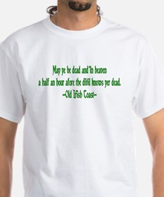 Irish Toast--Before Divil Kno Shirt